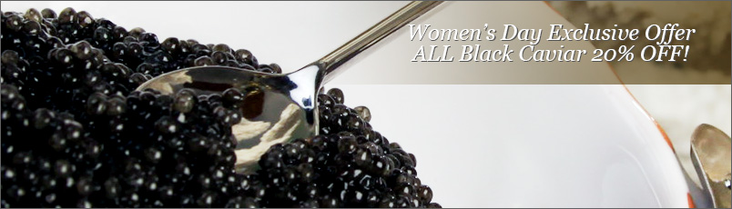 International Women's Day Exclusive Offer - ALL Black Caviar 20% OFF!